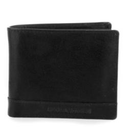 Portemonnee billfold 2-delig zwart