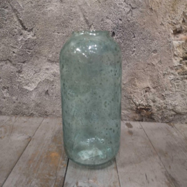 Vaas recycled glas 25cm