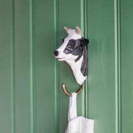 Houten haak koe
