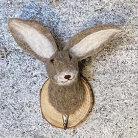 Haak konijn vilt