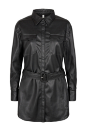 Soyaconcept black leather jack Beckie 8
