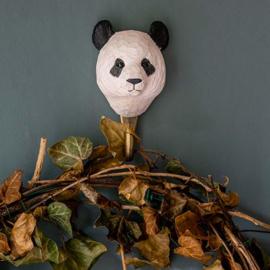 Houten haak panda