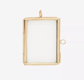 Fotolijstje mini brass