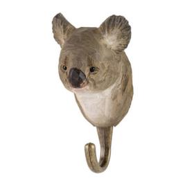 Houten haak koala