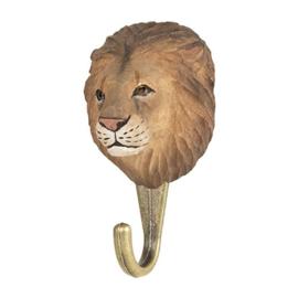 Houten haak leeuw