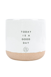 "Zusss geurkaars ""today is a good day"""