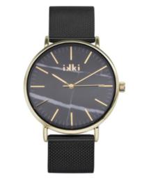 IKKI horloge Amelle zwart goud