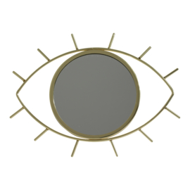 Spiegel oog goud