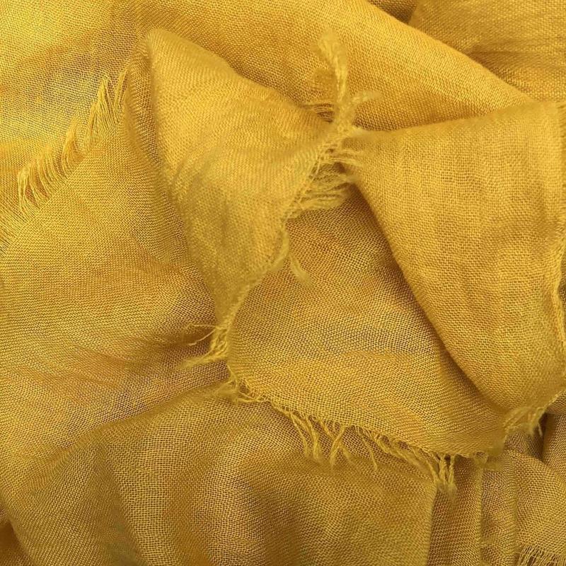 REVELZ sjaal - Oker yellow