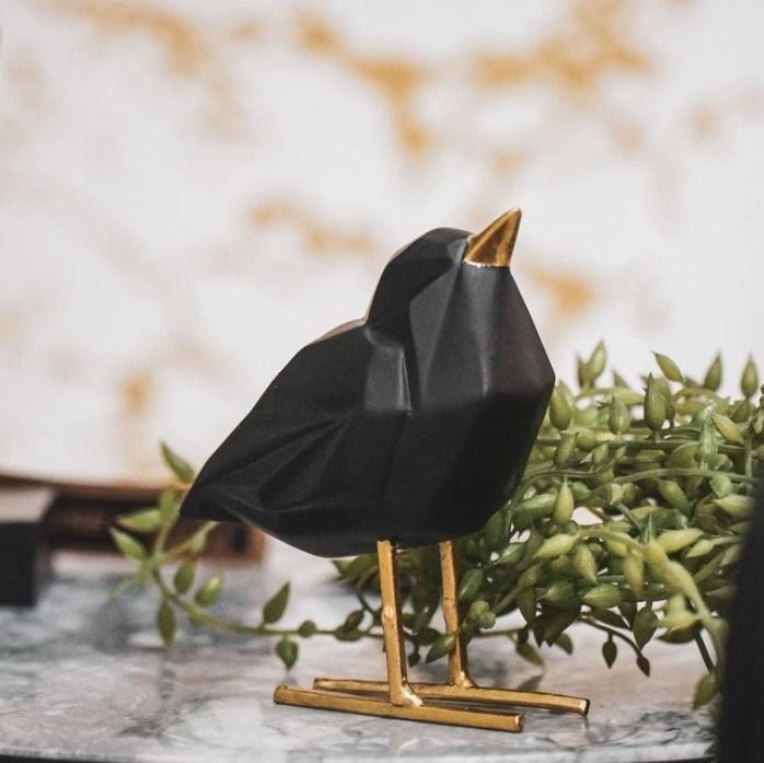 Vogeltje zwart