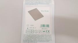 Gaas aluminium steriel (10 x 12 cm)