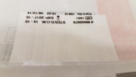 Hechtstrips 4 x 38 mm (8 st)