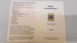 Presentie en competentiekaarten (10 st)