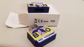 USB-stick in vorm logo KNV EHBO