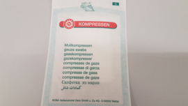 Gaas hydrophile 16/16 steriel (5 x 7,5 cm)