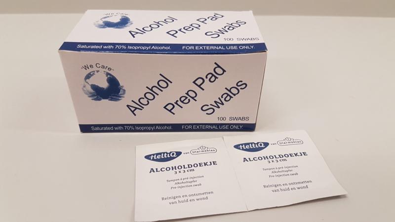 Alcohol swabs (100 st)