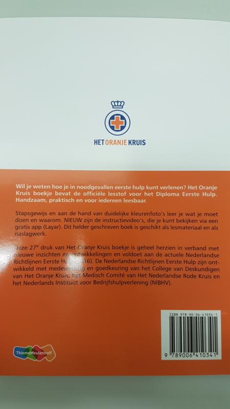 Oranje Kruisboekje 27e Druk Boeken En Lesmiddelen St