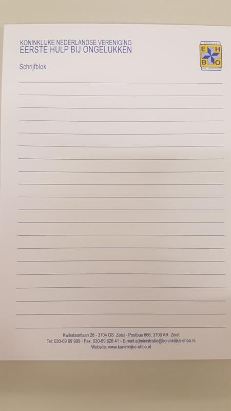 Schrijfblok A5