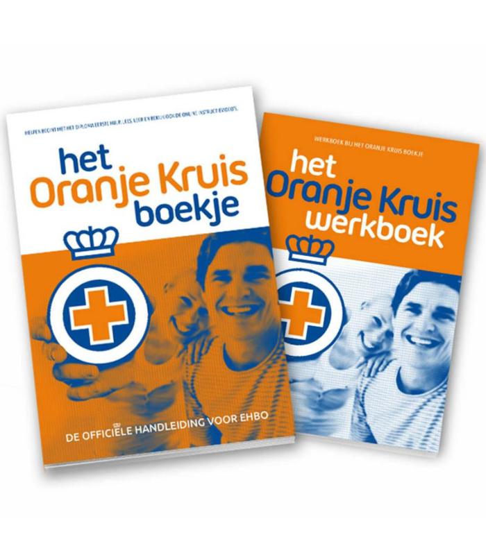 Combinatiepakket Boek en werkboek Oranje Kruis