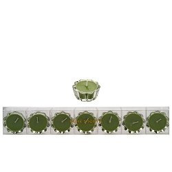 Home Society - Votive kaarsjes in glas - groen