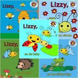 Complete set Lizzy de Vlinder boekjes