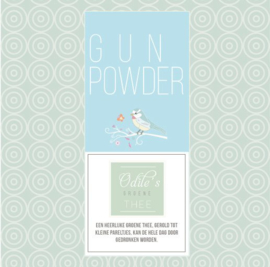 Groene thee - Gunpowder thee
