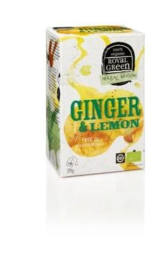 Royal Green Biologische Thee Ginger Lemon