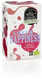 Royal Green Biologische Thee Love Happiness