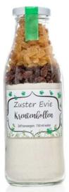 Zuster Evie - broodmix krentenbollen