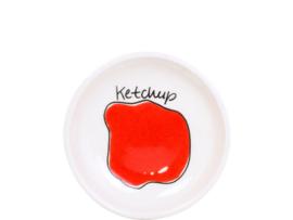 Blond Snack Ketchup schaaltje 8 cm