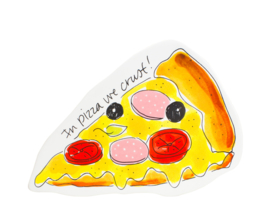 Blond Amsterdam bord pizza