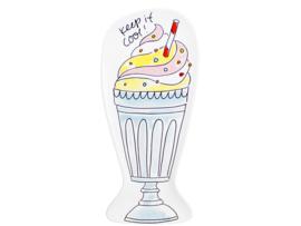 Blond Amsterdam bord milkshake