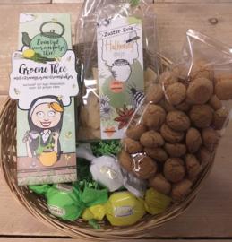 Zuster Evie cadeaupakket groene thee