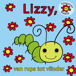 Boek Lizzy  van rups tot vlinder