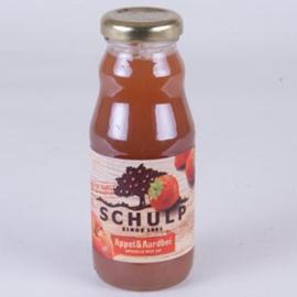 Schulp Appel en Aardbeiensap