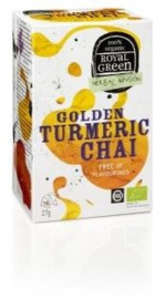 Royal Green Biologische Thee Golden Turmeric Chai