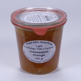 Sinaasappel suikervrije jam