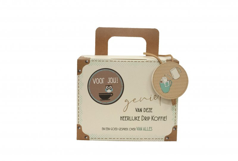 Koffie Koffertje - Voor jou (dame)