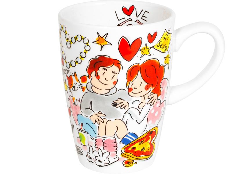 Beker XL Valentijn Happy
