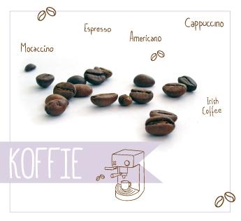 Odiles-koffiebonen