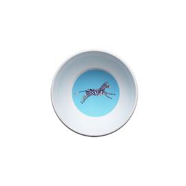 kom - blauwe zebra