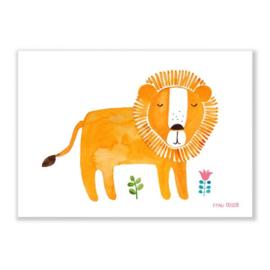 print A4 - leeuw [frau ottilie]