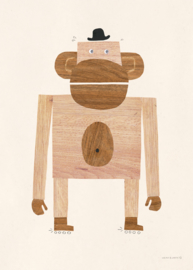 poster - monkey [walnut & walrus]