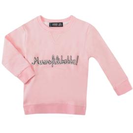 sweatshirt - mumsfilibabba! pink [raspberry republic]
