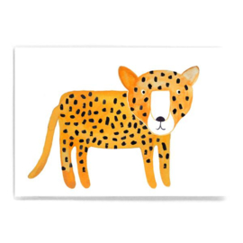 kaart A6 - leopard [frau ottilie]