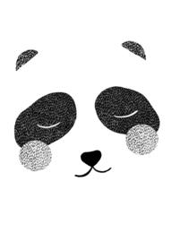 poster - panda [wonder & rah]