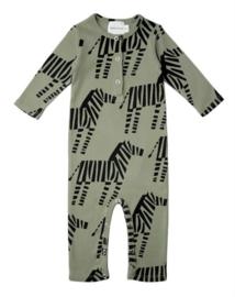 jumpsuit - zebra [walnut & walrus]