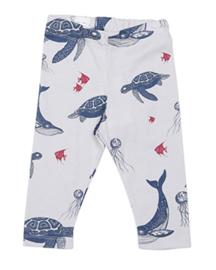 leggings - under the sea [one we like x mini empire]