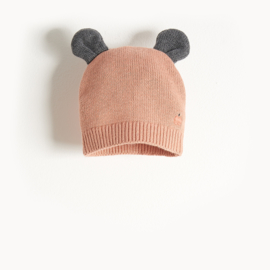 hat with ears - pink [the bonniemob]
