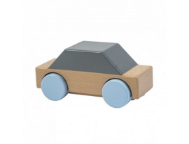 houten auto - grijs